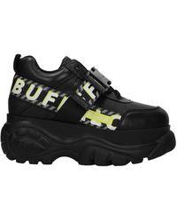 Buffalo Sneakers Leather - Black