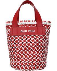 Miu Miu Red Handbags