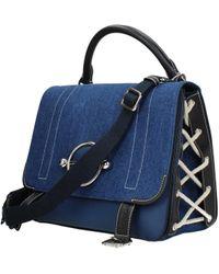 JW Anderson Blue Handbags