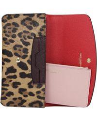 Dolce & Gabbana Wallets Women Brown - Multicolour