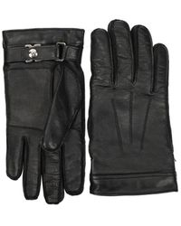 Saint Laurent Gloves Man Black