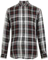 DSquared² Checked Shirt - Multicolour