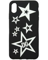 Dolce & Gabbana Dolce&gabbana Iphone Cover Iphone Xs Max Pvc - Black