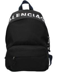 Balenciaga Black Backpacks And Bumbags