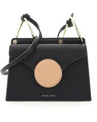 Danse Lente Phoebe Leather Mini Bag - Black