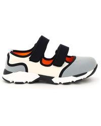 Marni Multicolour Double Strap Sneakers