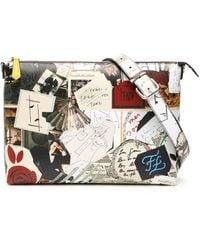 Fendi Karl Kollage Bag - Multicolor