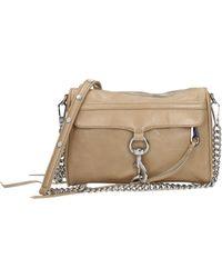 Rebecca Minkoff Crossbody Bag Mini Mac Women Beige - Natural