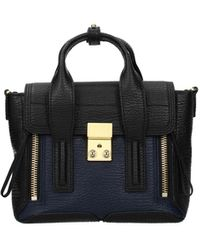 3.1 Phillip Lim Handbags Pashli Leather - Black