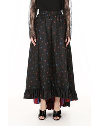 Philosophy - Long Floral Skirt - Lyst