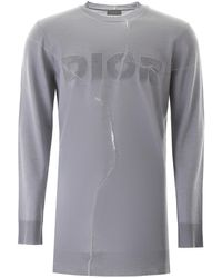 Dior Asymmetrical Jumper - Grey