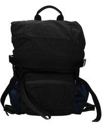 Bottega Veneta Black Backpack And Bumbags