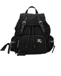 Burberry Backpacks And Bumbags Fabric - Black