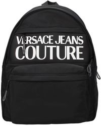 Versace Jeans Couture Backpack And Bumbags Couture Polyurethane - Black