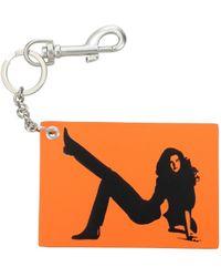 Calvin Klein Orange Key Rings Est 1978