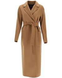 Max Mara Amore Wool And Cashmere Coat - Brown
