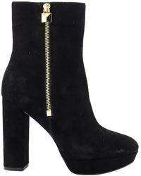 Michael Kors Platform Boots Black