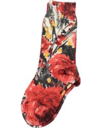 Prada Red Short Socks