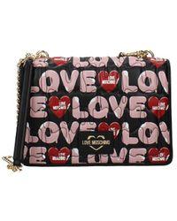 Love Moschino Crossbody Bag Women Black