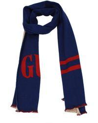 Gucci Scarves Men Blue