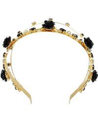 Dolce & Gabbana Hair Accessories Women Gold - Metallic