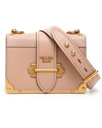 Prada Cahier Bag - Multicolor