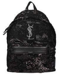 Saint Laurent Backpack And Bumbags Men Black