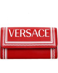 Versace Red Wallets