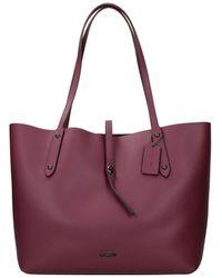 COACH Shoulder Bags Women Violet - Purple