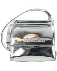 Calvin Klein Crossbody Bag 205w39nyc Women Silver - Metallic