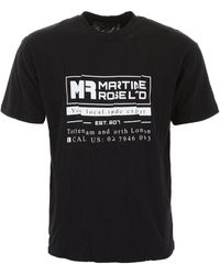 Martine Rose Logo T-shirt - Black