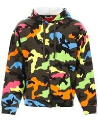 Valentino Camouflage Hoodie - Multicolor