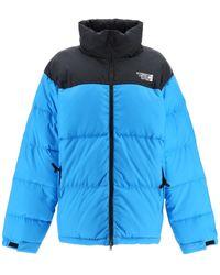 Vetements Two-tone Puffer Jacket - Blue