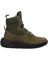 Giuseppe Zanotti Ankle Boot Suede - Green