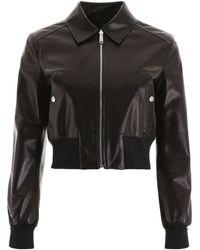 Prada Leather Jacket - Black