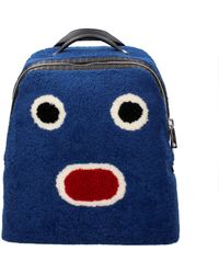 Fendi Backpack And Bumbags Men Blue