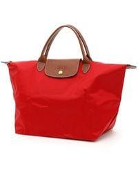 Longchamp - Le Pliage Medium Shopping Bag - Lyst