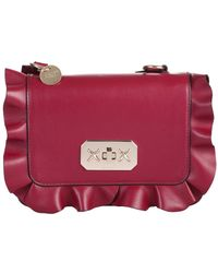 "RED Valentino ""rock Ruffle"" Shoulder Bag With Ruffles - Multicolour"
