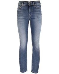 Max Mara Skinny-fit Denim Jeans - Blue