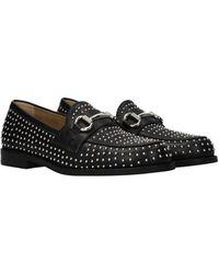Steve Madden Loafers Leather - Black