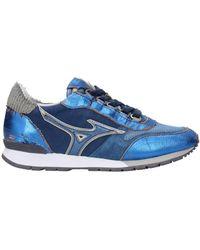 Mizuno Trainers Naos Fabric - Blue