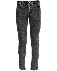 Michael Kors Acid Wash Denim Jeans - Black