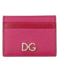 Dolce & Gabbana Document Holders Woman Pink