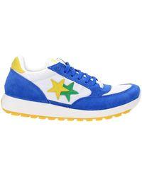 2Star Sneakers Men Fabric Blue Blue