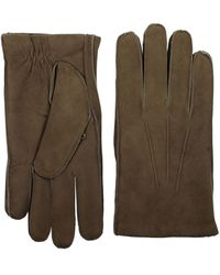 Orciani Gloves Suede Truffle - Brown