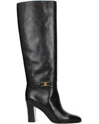 Celine Black Boots Claude