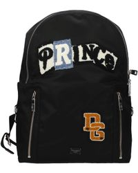 Dolce & Gabbana Backpack And Bumbags Patch Prince Men Black