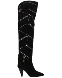 Isabel Marant Boots Suede - Black