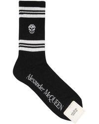 Alexander McQueen Socks - Black