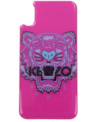 KENZO Iphone Cover X/xs Silicone Sky - Purple